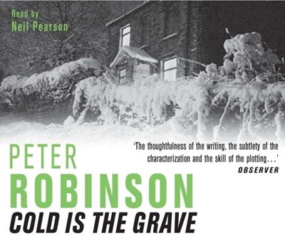Book cover for Cold is the Grave